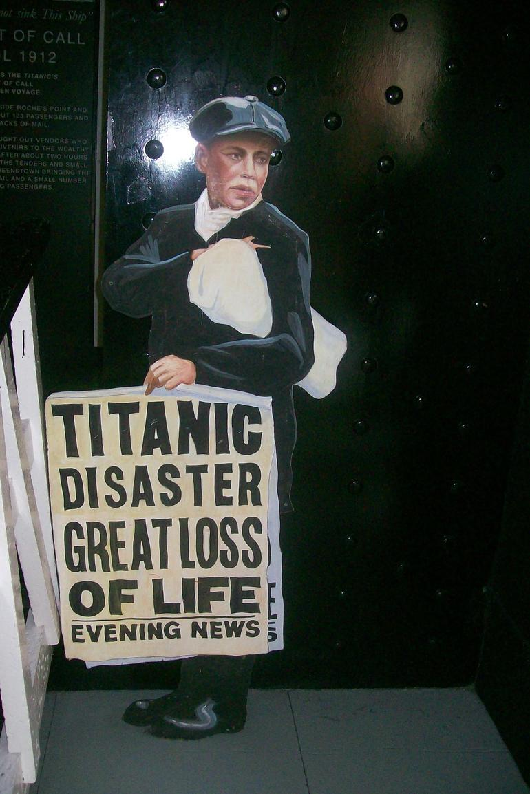 Last Port of Call for the Titanic - Dublin