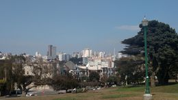 The view from atop Alamo Square Park, Emily G - August 2015