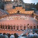 Photo of Edinburgh Scottish Highlands Day Trip and Edinburgh Military Tattoo Massed pipes and drums at the Edinburgh Military Tattoo 2009