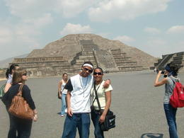 Photo of Mexico City Teotihuacan Pyramids and Shrine of Guadalupe Me and my nephew