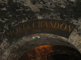 In the cellars of Moet et Chandon , Judy M - October 2012