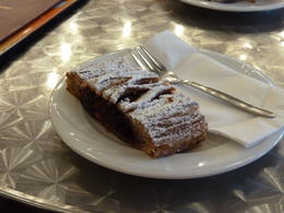 Strudel - enjoyed at cafe in marzipan Museum included on tour (1000FTS entrance fee) , Ruth G - October 2011