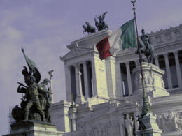 Photo of   R Altare della Patria is dedicated to King Vittorio Emanuele