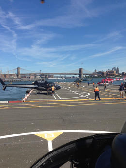 Photo of New York City Manhattan Sky Tour: New York Helicopter Flight The helipad