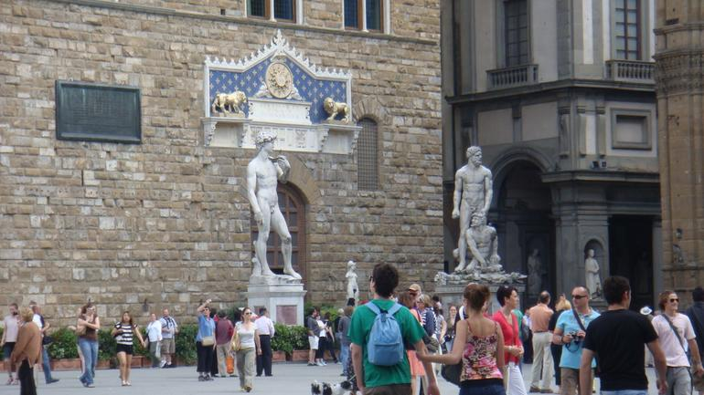The Statue of David - Florence