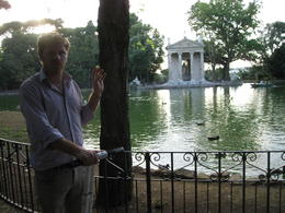 Photo of Rome Rome Segway Tour: Villa Borghese Uberto in action