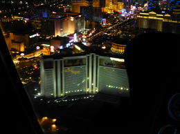 Photo of Las Vegas Las Vegas Strip Night Flight by Helicopter with Transport vegas at nite