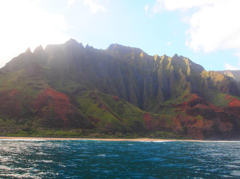 Awesome views of the island - Kauai