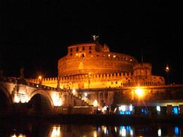 Photo of Rome Rome Tiber River Night Cruise with Dinner or Wine Castle St. Angelo