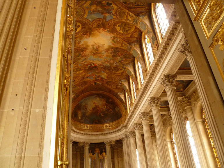 Chapel Ceiling - Paris