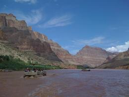 Who gets to ride on a boat on the Colorado River? The view is spectacular., DAWN M B - September 2008