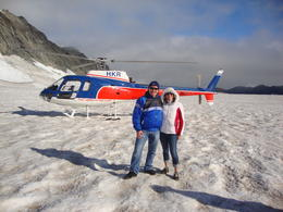Photo of Franz Josef & Fox Glacier Twin Glacier Helicopter Flight departing Franz Josef DSC02564
