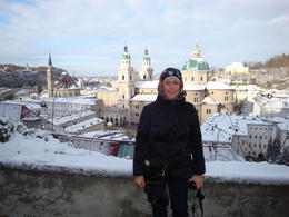 Overlooking the city of Salzburg. What a beautiful view! , Polly - December 2010