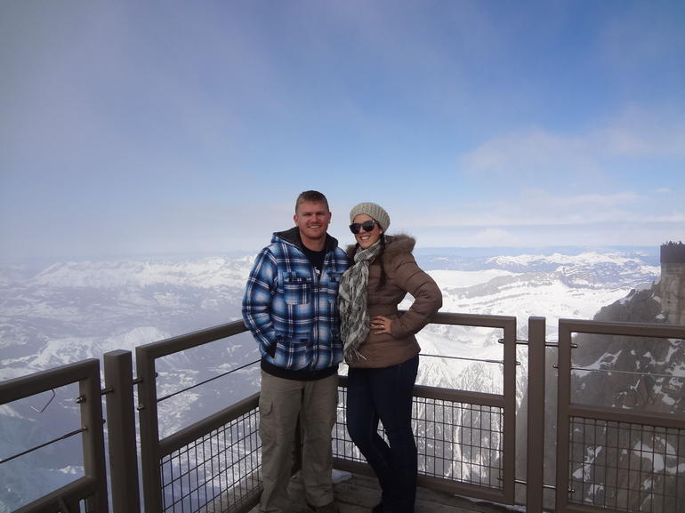 Enjoying our time at the top - Geneva
