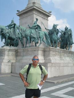 Photo of Vienna Budapest Day Trip from Vienna Hero's Square, Budapest
