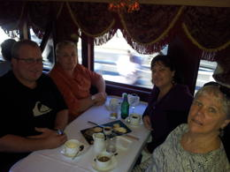 Photo of   Lunch on the Tram Car Melbourne