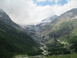 Photo of Milan Swiss Alps Bernina Express Rail Tour from Milan Melting Ice caps