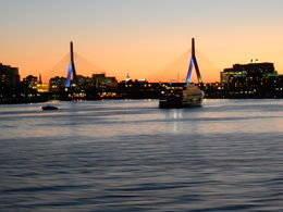 Boston harbor sunset cruise , Tracy D - October 2015