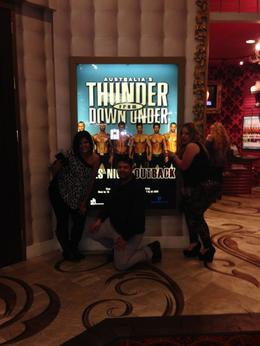 Photo of Las Vegas Thunder from Down Under at the Excalibur Hotel and Casino My Birthday 2014!!!