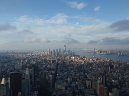 Photo of New York City from the Empire State Building. , Neil W - September 2012