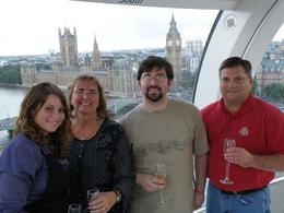 Photo of London London Eye: Champagne Experience Picture from in the Pod
