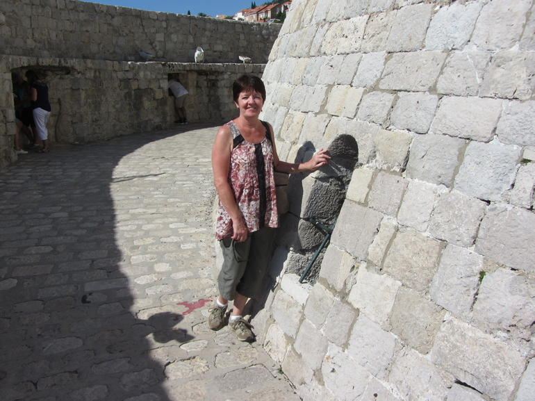 The tower where dragons were held. - Dubrovnik