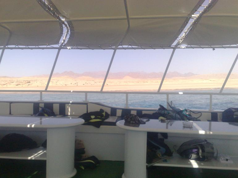 The View from the sun deck... wow - Sharm el Sheikh