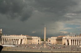 Vatican Square. It's huge and beautiful. , Kenneth B - July 2014