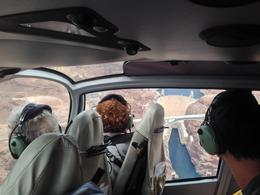 Flying over the Hoover Dam, Pauli - April 2014