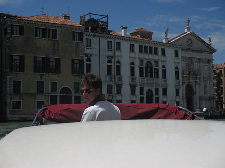 Water Taxi transfer in Venice. - Venice