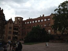 Heidelberg castle , Gates - October 2012