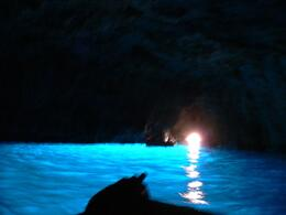 Blue Grotto. - July 2008