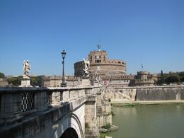 Tiber River looking at Castello del Angelo, Carol Lee M - May 2010