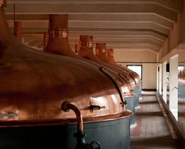 Photo of Prague Glass and Brewery Day Trip from Prague Copper tanks, Pilsner Urquell Brewery, Plzeň Czech Republic