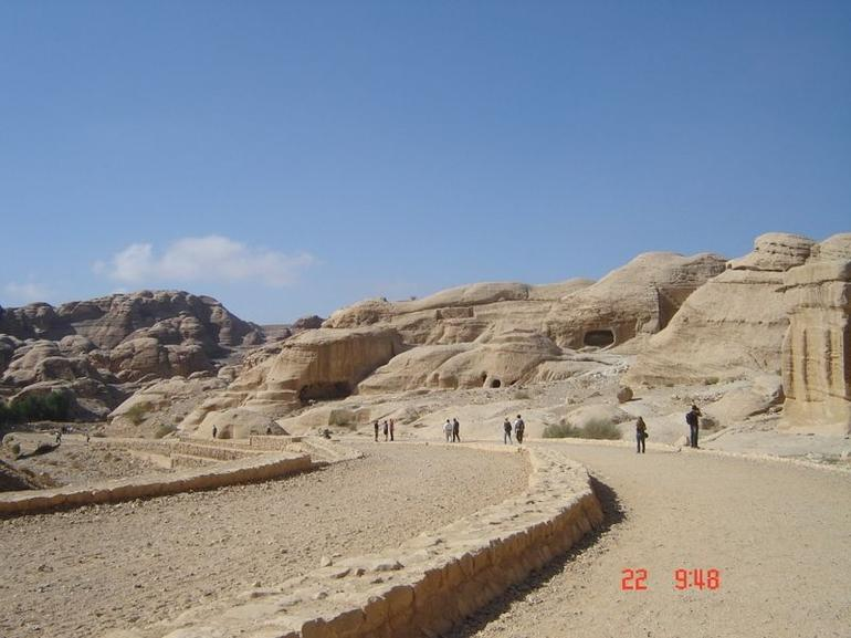Entering Petra - Amman
