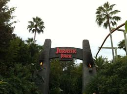 Photo of   Entrance to Jurassic Park