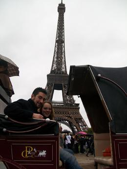 Photo of Paris Romantic Horse and Carriage Ride through Paris In front of the Eiffel Tower #2