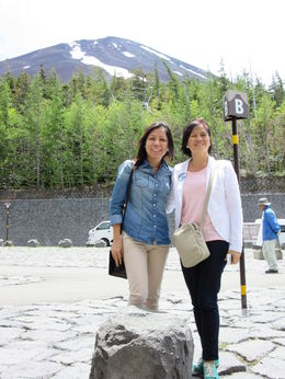 I am with my friend and we really had a very wonderful Mt Fuji experience.. , Eva - June 2015