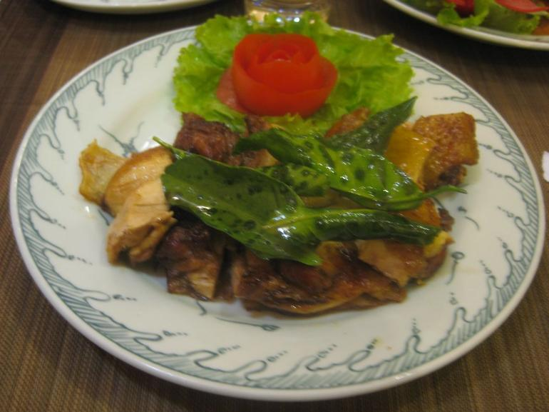 My chicken dish - Hanoi
