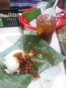 nasi lemak n lemon tea , Liany H - January 2014