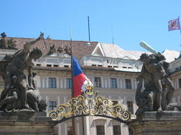 Entrance to the Prague Castle complex , tonymichelle922 - June 2011
