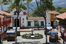 Panoramic view of El Pueblito Paisa, a replica of a colonial Colombian town., Bandit - September 2012
