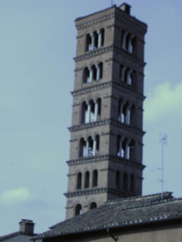 Photo of   R bell tower of SS Giovanni e Paolo