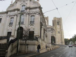 Photo of Lisbon Lisbon Guided Walking Tour Santo António Church with the Cathedral in the background