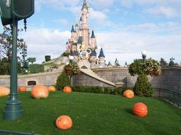 Sleeping Beauty Castle with pumpkins, William L - January 2010
