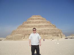 Photo of Cairo Private Tour: Memphis and Sakkara Steps at Saqqara/Sakkara