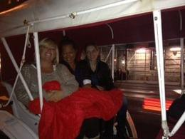 Photo of New York City Private Horse and Carriage Ride in Central Park A rainy cold night. Thank goodness for the blanket.