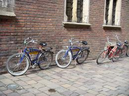 Krakow Bike Tour trusty steeds, Ian B - April 2008