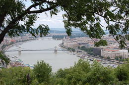 View of Pest from Buda , K - August 2012