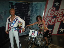 Photo of Las Vegas Madame Tussauds Las Vegas Evel Knievel